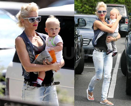 Photos Of Gwen Stefani Kingston Rossdale And Zuma Rossdale In La
