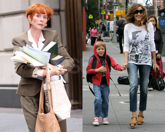 Photos of Sarah Jessica Parker, Cynthia Nixon, and James ...