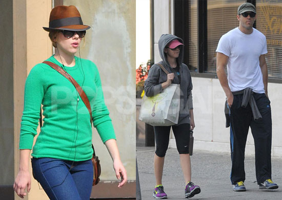 Photos of Scarlett Johansson And Ryan Reynolds Leaving a ...