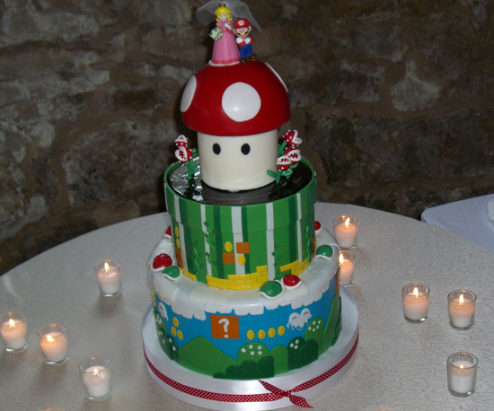mario brothers wedding cake mario wedding cake 10 sweet mario bros treats 17144