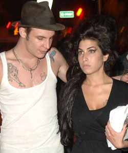 Amy Winehouse And Blake Fielder Civil Granted A Divorce By London S High Court Neither Of Them Are Present Married In May 2007 Popsugar Celebrity Uk