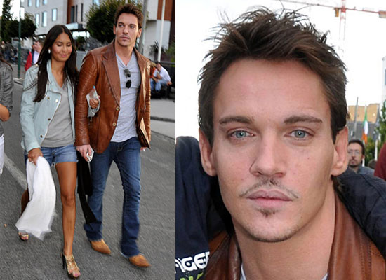 Photos of Jonathan Rhys Meyers With Girlfriend Possible ...