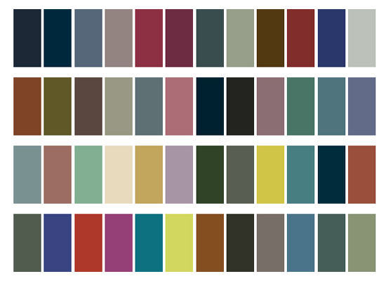 Colour Palette For Spring 2010 Pantone Shades Popsugar