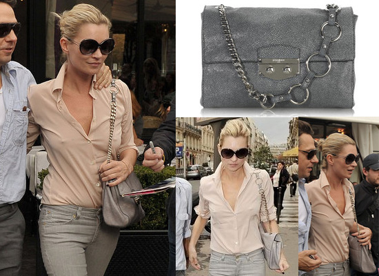 7574388c5c ... Kate was also carrying a gorgeous YSL Sixieme stingray bag (£1