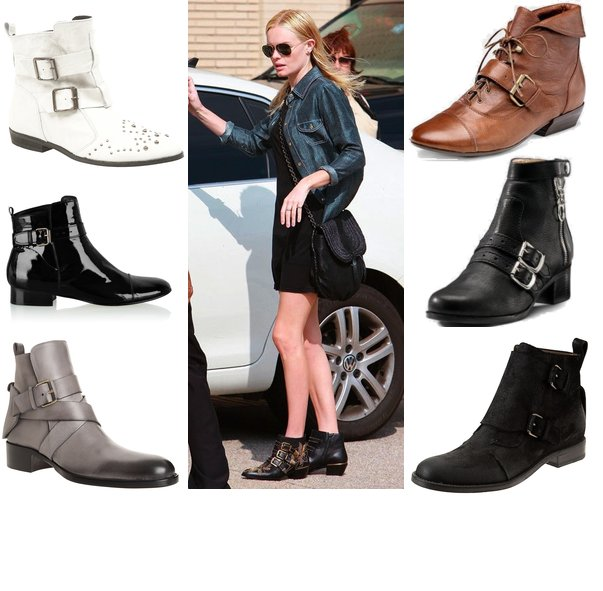 Ankle Flat Boots - Cr Boot