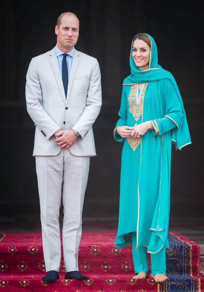Kate Middleton's Outfits During Royal Tour of Pakistan