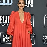 Olivia Wilde at the 2020 Critics' Choice Awards