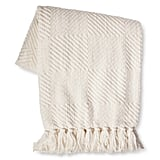 Chenille Diamond Throw ($14, originally $20)
