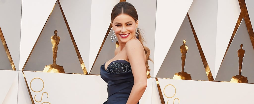 Sofia Vergara Steams Up the Oscars With a Big Smile and Plenty of Sex Appeal