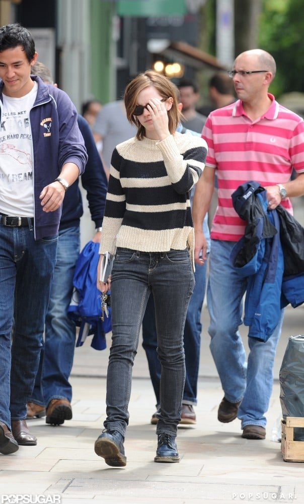 Emma Watson in London With Her Boyfriend