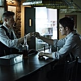 Zach Roerig as Matt and Steven R. McQueen as Jeremy on The Vampire Diaries.