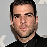 Zachary Quinto made an appearance at Fox's Emmys after party.