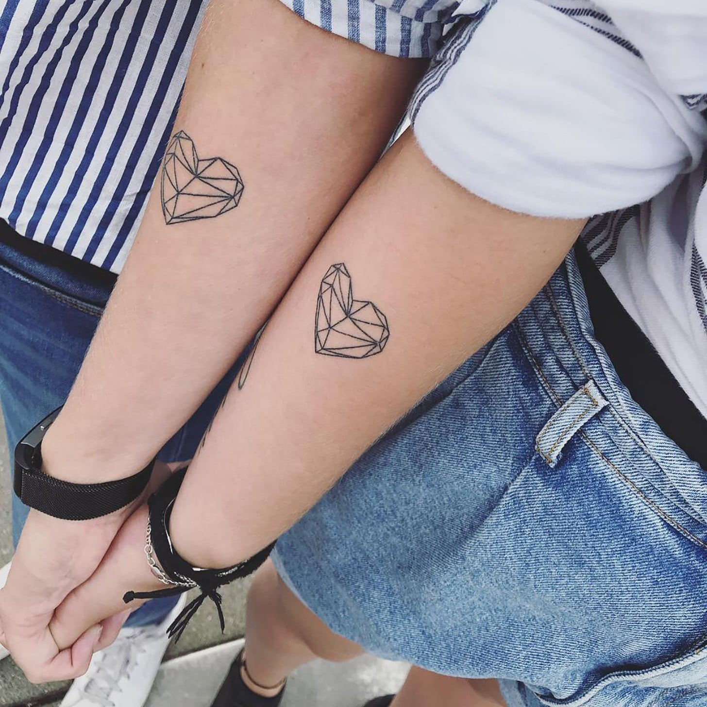 da8ee56c2e1a9 Matching Tattoo Ideas | POPSUGAR Love & Sex