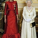 القلادة المهداة من أمير قطر