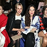 She Has a Front-Row Seat at the Best Fashion Shows