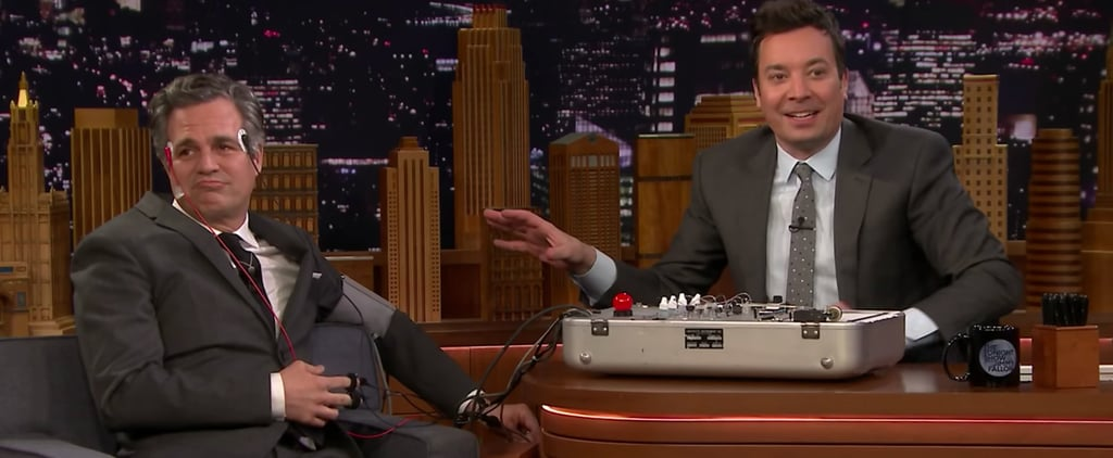Mark Ruffalo Lie Detector Test on The Tonight Show Video