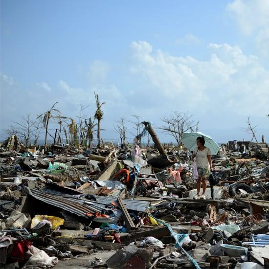 Typhoon Haiyan's Path