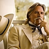 Don Johnson in Django Unchained.