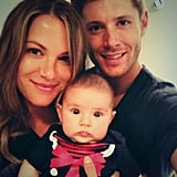 The actors love to snap special moments with their daughter, Justice Jay Ackles. In August 2013, Danneel shared this picture of the trio to thank fans for making donations to Hats Off For Cancer instead of buying baby gifts.