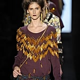 The embellished sweaters at Juliana Jabour reminded me that even my cozy clothes can get glam. I love how her earrings mimic the work on her top.