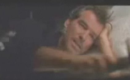 Pierce Brosnan Gets Pranked On Set