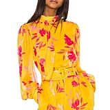 Song of Style Stevie Top in Yellow Floral from Revolve.com