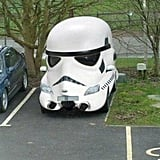 This Full-On Stormtrooper Car
