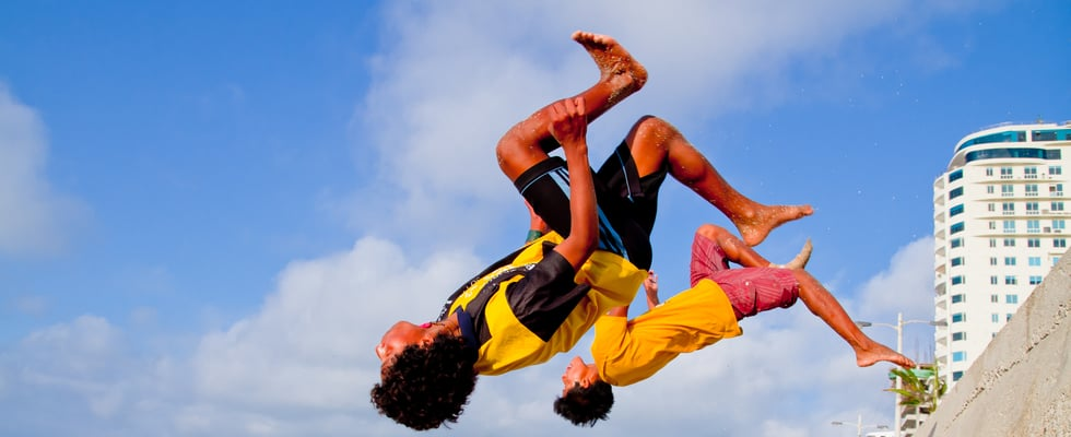 Watch Two Normal Guys Dominate at Parkour (Well, Sort Of . . . )