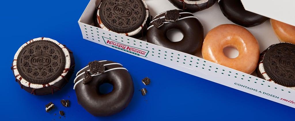 Krispy Kreme Releases Oreo Cookie Glazed Doughnuts