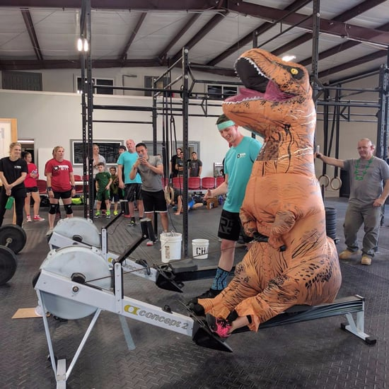 Funny Pictures of T-Rex Doing CrossFit
