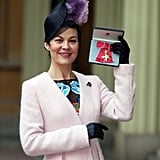 See Dame Julie Walters and Helen McCrory OBE Investitures