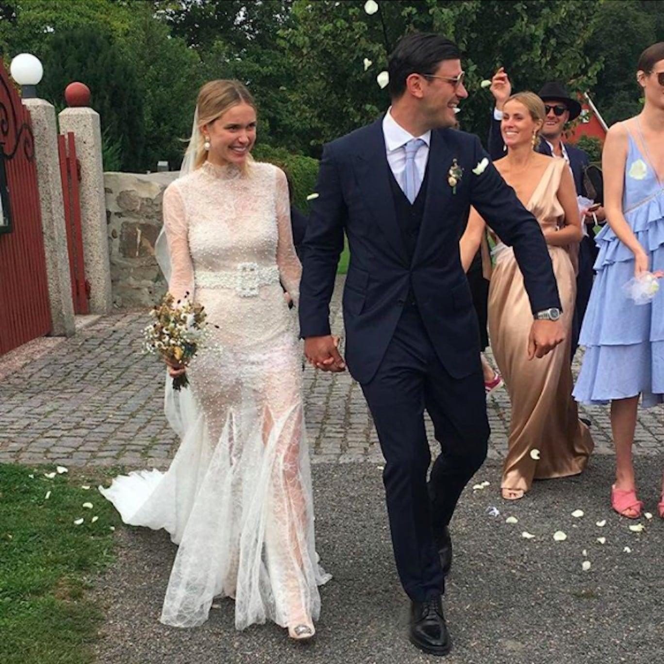 Pernille Teisbaek Vera Wang Wedding Dress | POPSUGAR Fashion