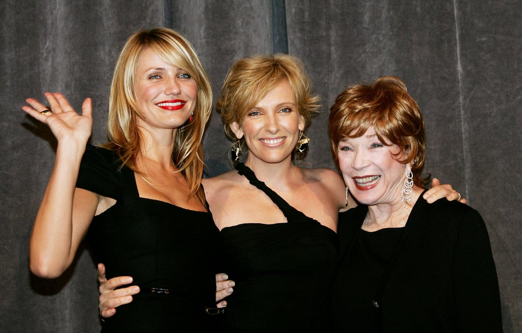 Cameron Diaz was joined by Toni Collette and Shirley MacLaine for the 2005 screening of In Her Shoes.