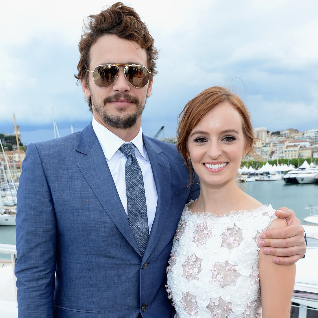 James Franco Girlfriend History Best james franco hosts cannes party for ahna o'reilly | pictures