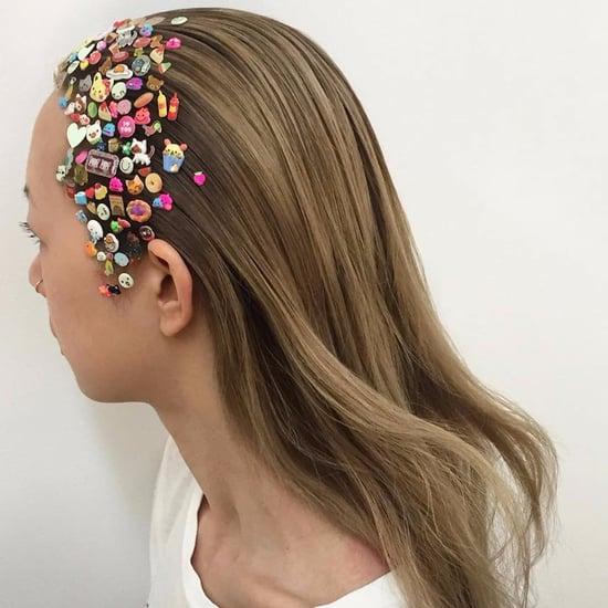 Sticker Hair Trend