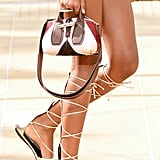 Longchamp Shoes on the Runway at New York Fashion Week