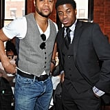 Cuba Gooding Jr. attended the Jury lunch for the 2012 Tribeca Film Festival.