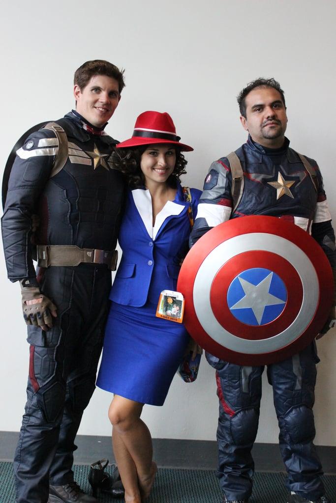 captain americas and agent carter