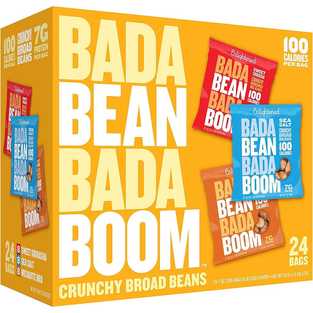 Enlightened Bada Bean Bada Boom Roasted Broad (Fava) Bean Snack