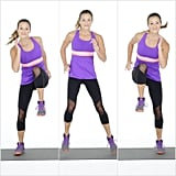 Lateral Shuffle With High-Knee Hold