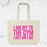 Off to the Gym Tote