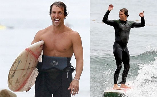 Photos of Matthew McConaughey, Who Recently Released Surfer Dude trailer