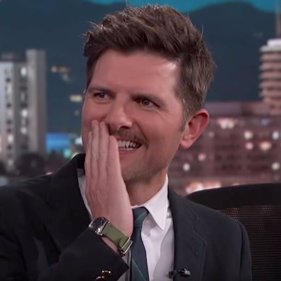 Adam Scott Meeting Mark Hamill on Jimmy Kimmel May 2017