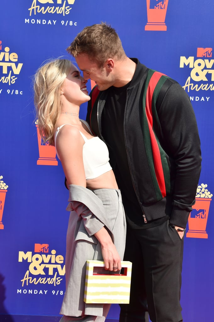 Cassie Randolph and Colton Underwood at the 2019 MTV Movie and TV Awards