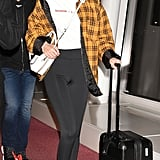 See More Photos of Gigi's Airport Look