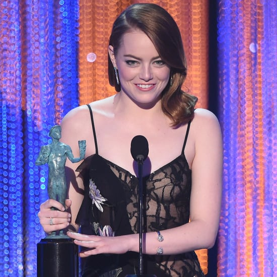 Emma Stone Speech Video at the 2017 SAG Awards