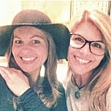 """Lori: """"Dinner and a movie with my Saturday night date @candacecbure"""""""