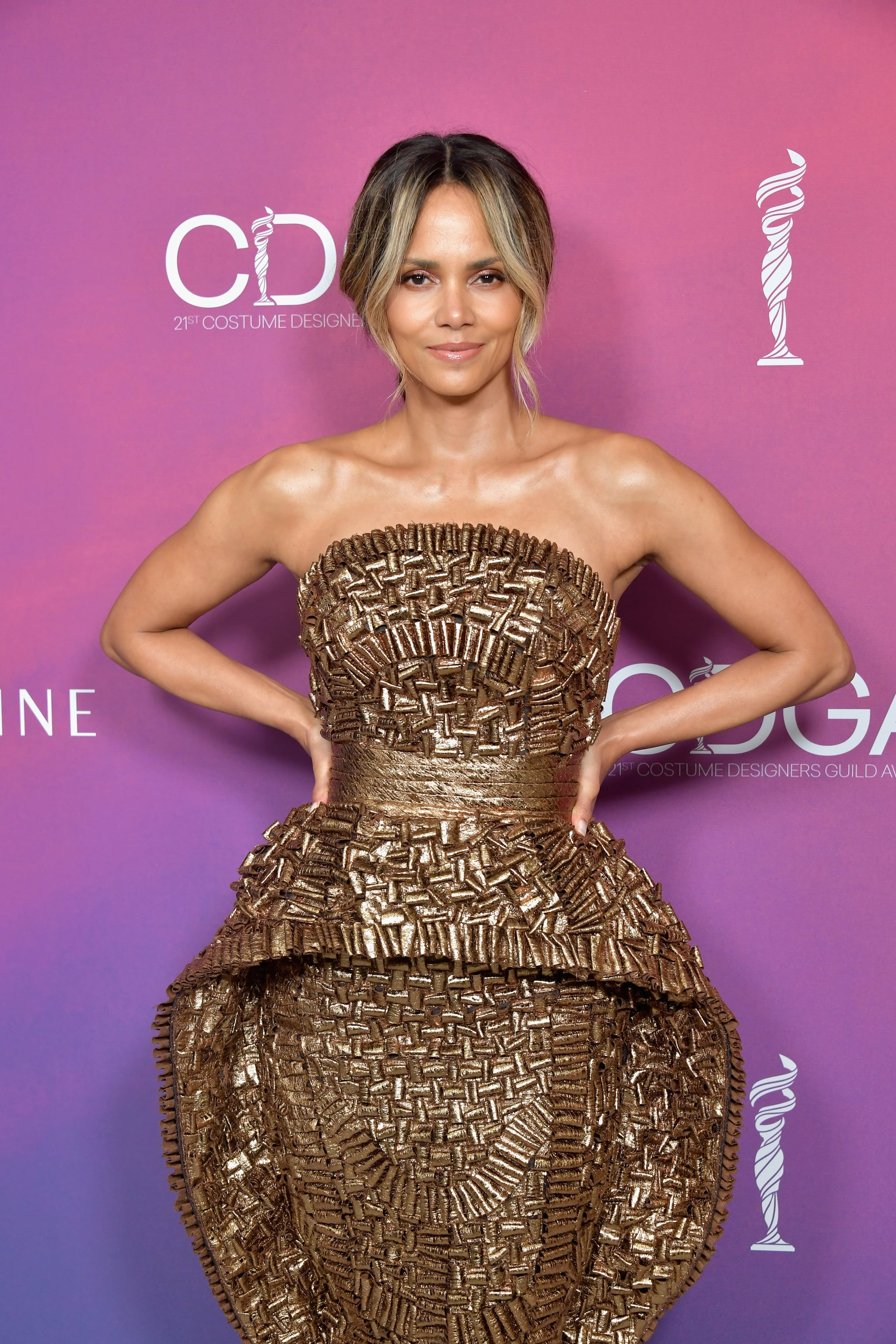 BEVERLY HILLS, CA - FEBRUARY 19:  Halle Berry attends The 21st CDGA (Costume Designers Guild Awards) at The Beverly Hilton Hotel on February 19, 2019 in Beverly Hills, California.  (Photo by Amy Sussman/Getty Images for CDGA)