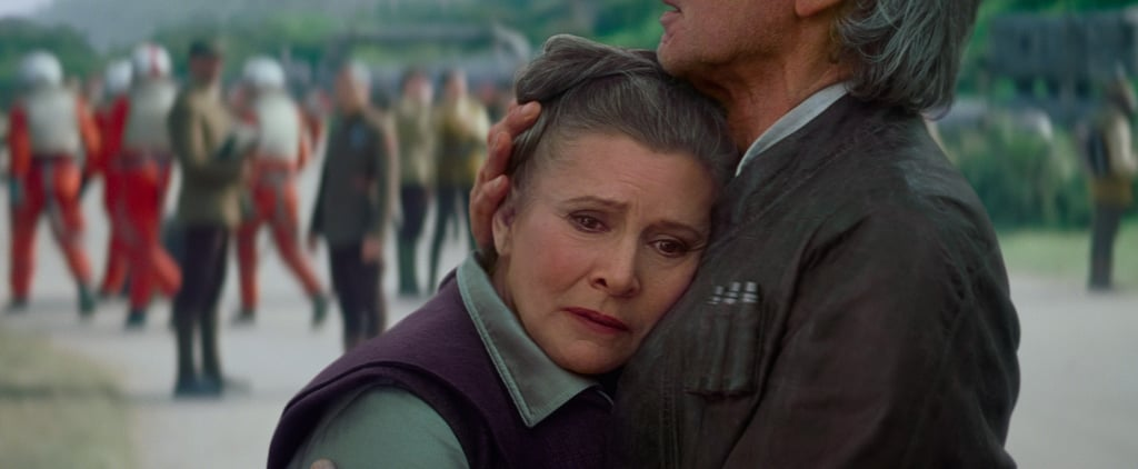 Is Carrie Fisher in Star Wars Episode VIII?