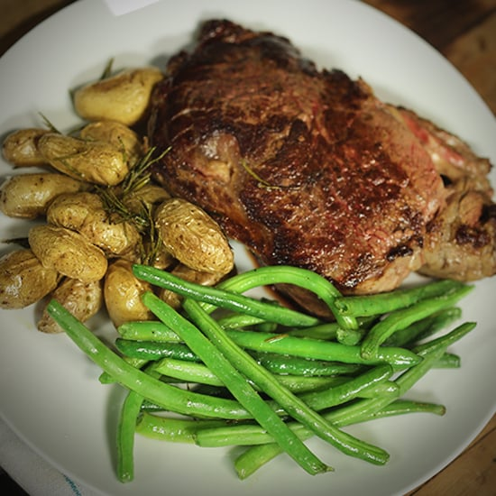 Steak and Potatoes Dinner